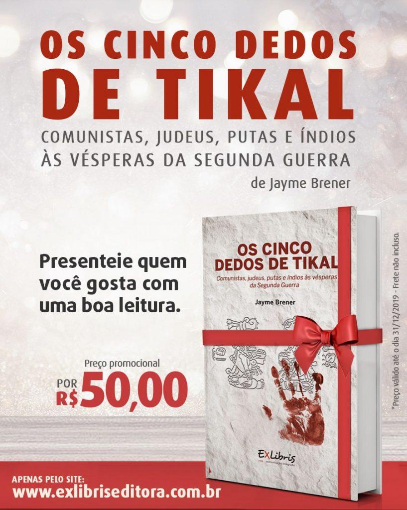 Promo - Os Cinco Dedos de Tikal